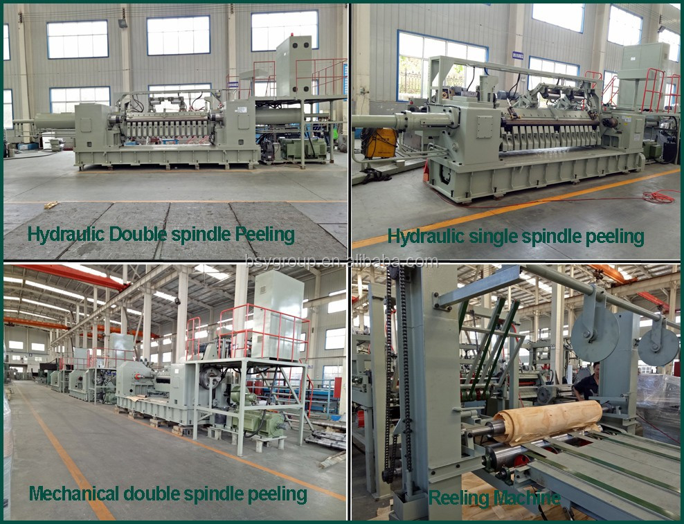 CNC Spindle Plywood Rotary Veneer Machine