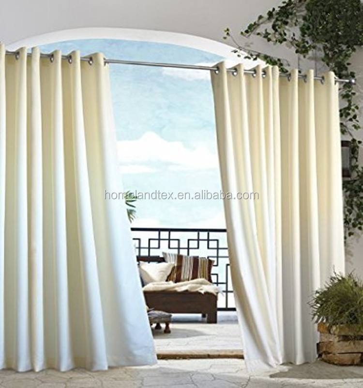 Outdoor decoration gazebo curtain