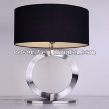 high standard black chandelier table lamp