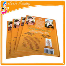 China Factory hardcover book printing with die-cut cover
