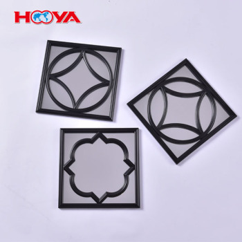 hot sale PP frame single side decorative wall mirror