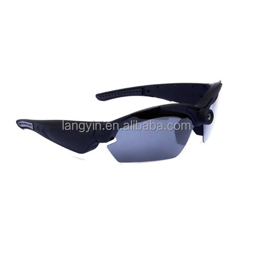 hd 1080p sunglasses camera with wide angle 142 degree for Biker, Hunter