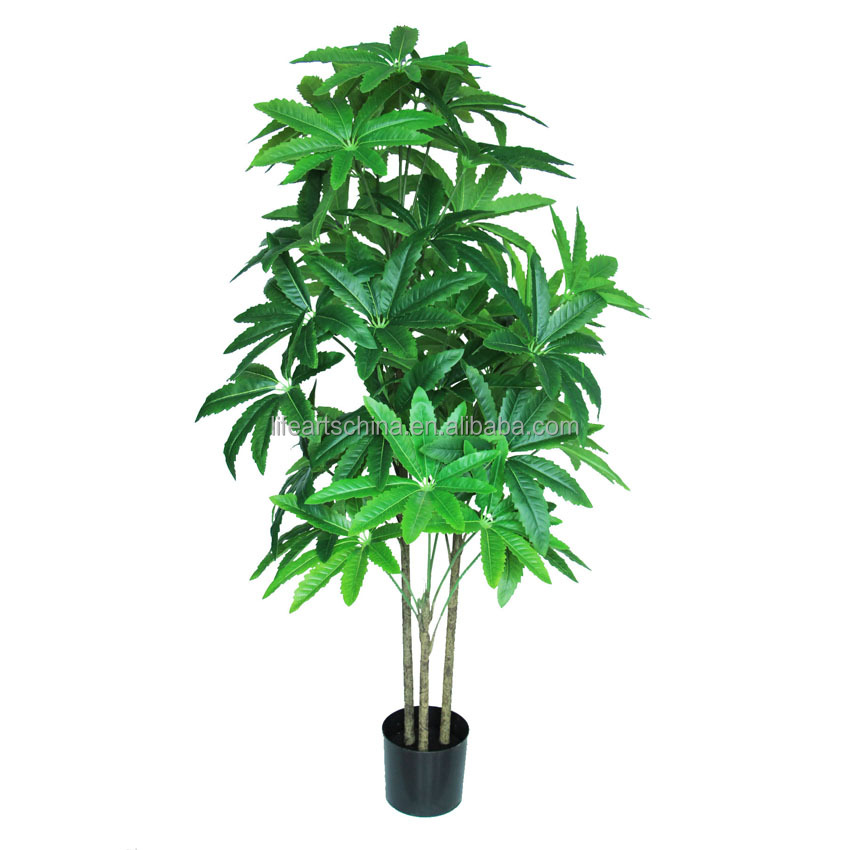 fresh design artificial tree, peacock leaf tree, HOT ARTIFICIAL PLANT