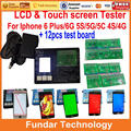 For iphone6 LCD&Touch Screen Digitizer Metal Testing Frame Machine with 12pcs PCB Board Tester for iphone 4 5s 5g 5c 6 plus