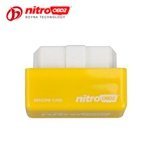 Super Nitro OBD2 chip tuning box for Benzine cars gasoline Plug Drive function increasing the performance of engine