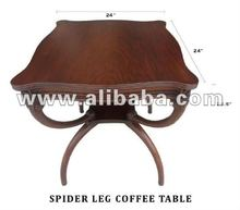 Spider leg table