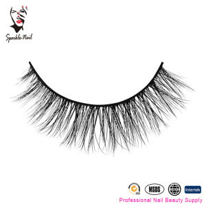 Sparkle Nail 100% Real Mink Eyelashes False Eyelash Manufacture