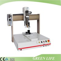 Fully automatic desktop glue dispenser machine for welding control paste
