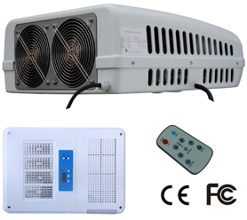24VDC Rooftop Air Conditioner for trucks and vehicle