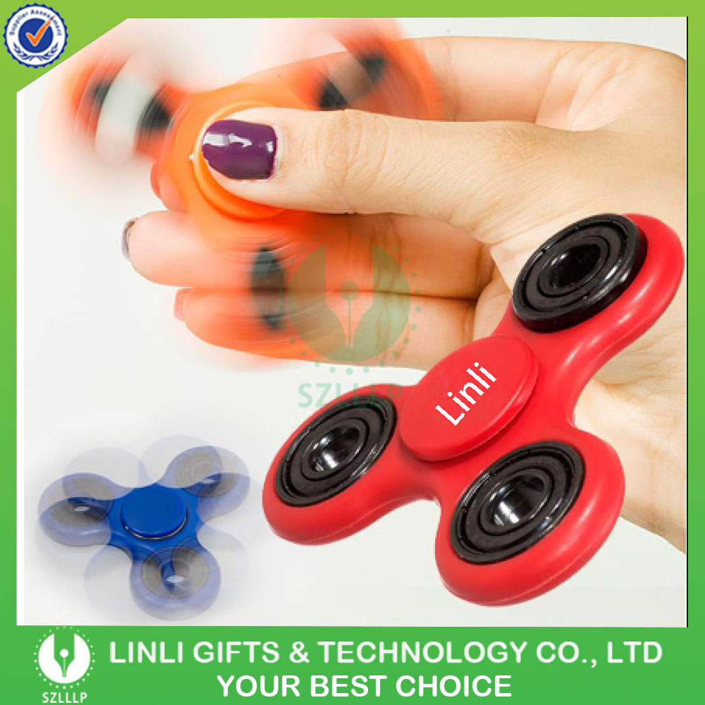 Promotional Hand Game Ceramics Bearing Toys, Educational Finger Spinner Toys, Hand Spinner Toys