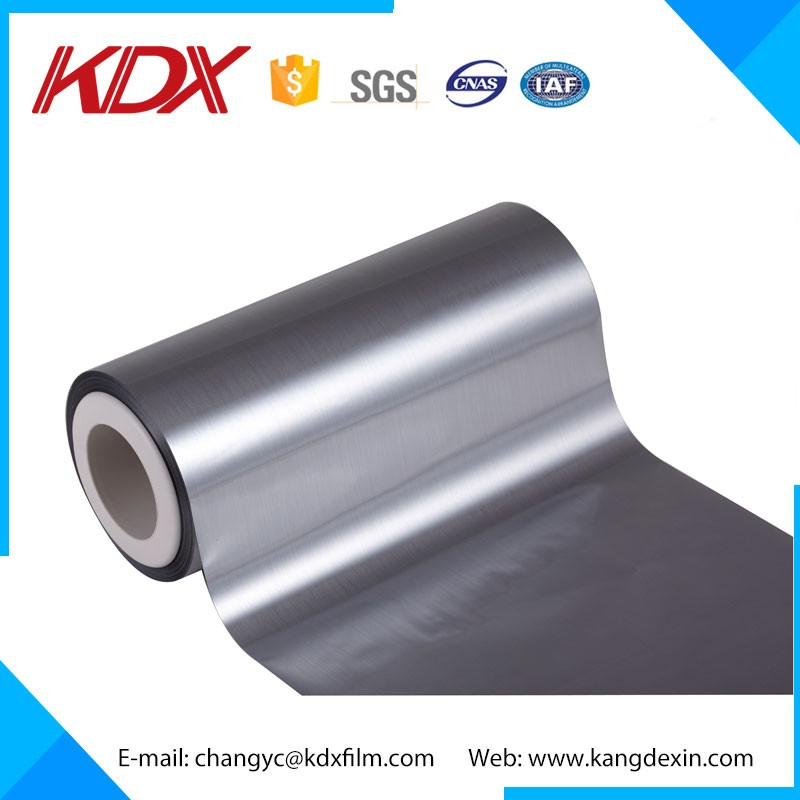 PET Metallized Film/ Reflective Aluminum Mylar Film Gold Thermal Lamination Film With ROHS CE ASTM