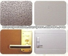 EMBOSSED COLOR GALVANIZED STEEL SHEET