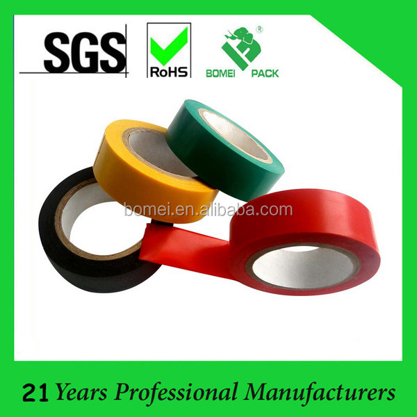 Kaidi electronics high voltage insulator adhesive insulation pvc tape