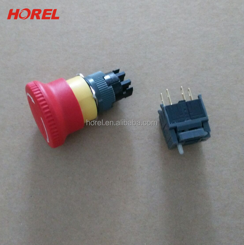F16-811 16mm E-stop Emergency Stop EMERGENCY SAFETY push button switch