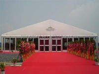 20m width used big party tents for sale