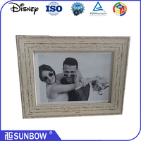 wholesale polystrene plastic snow globe picture photo frame