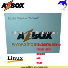 Made In China Internet+CA+CI+USB PVR WIF Receptor Azbox Premium HD Plus Azbox Bravissimo Wifi In Stock!