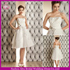 SD1182 wholesale wedding gown short country wedding dresses ball gown knee length wedding dress