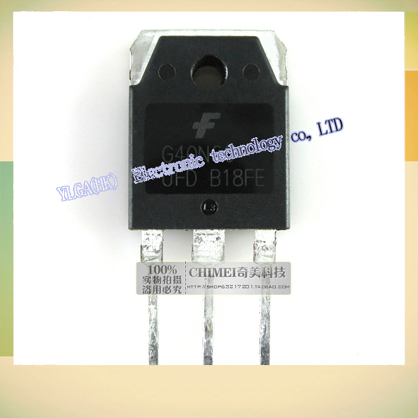 original teardown  G40N60UFD G40N60 40 n60 inverter IGBT power transistor,Free shipping