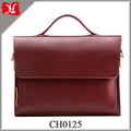 Professional Retro Mens Shoulder Genuine Cowhide Leather Briefcase Laptop Bag Multi-function Briefcase Business Office Bag