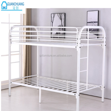 Hotsale cheap heavy duty strong metal iron steel bunk bed