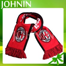 Hot Sale Factory Supply Cheap Knitted Acrylic Sport Team Fans Scarf