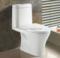 sanitary ware siphonic one piece wc ceramic toilet