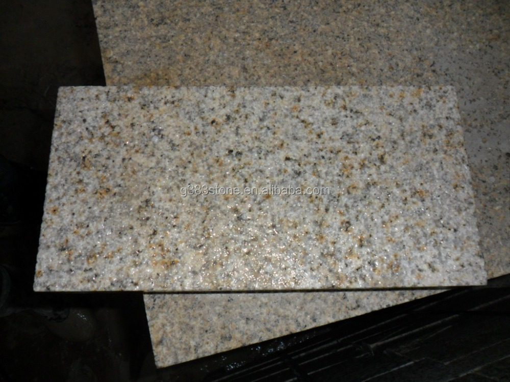 Polished Sincere Granite Flooring Tiles Gold Yellow types