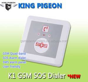 KingPigeon Fixed Wireless Emegency telephone 3G for elderly/senior with 16 wireless detectors