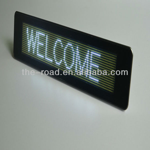 2014 New Product LED Electronic Moving Message Display