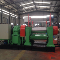 No middleman two roll open mixing rubber mill