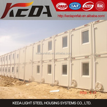 Prefabricated Site Office Shipping Container Homes for Sale