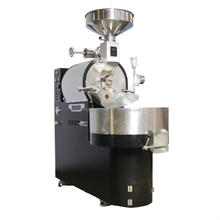 Automatic commercial coffee roaster 3 kg, Full city LPG propane industrial coffee machine coffee processing equipment