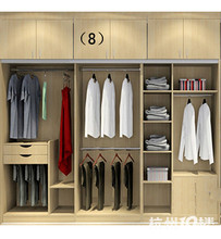 New product 2 door wardrobe with mirror for kitchen
