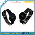 Metal LED round touch screen nicefree app wrist watch