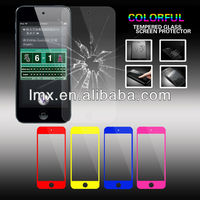 For iPod touch 5 tempered glass screen protector oem/odm(Glass Shield)