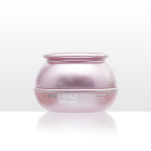 Korea Snail Cream /Bergamo Pure Snail Wrinkle Care Cream