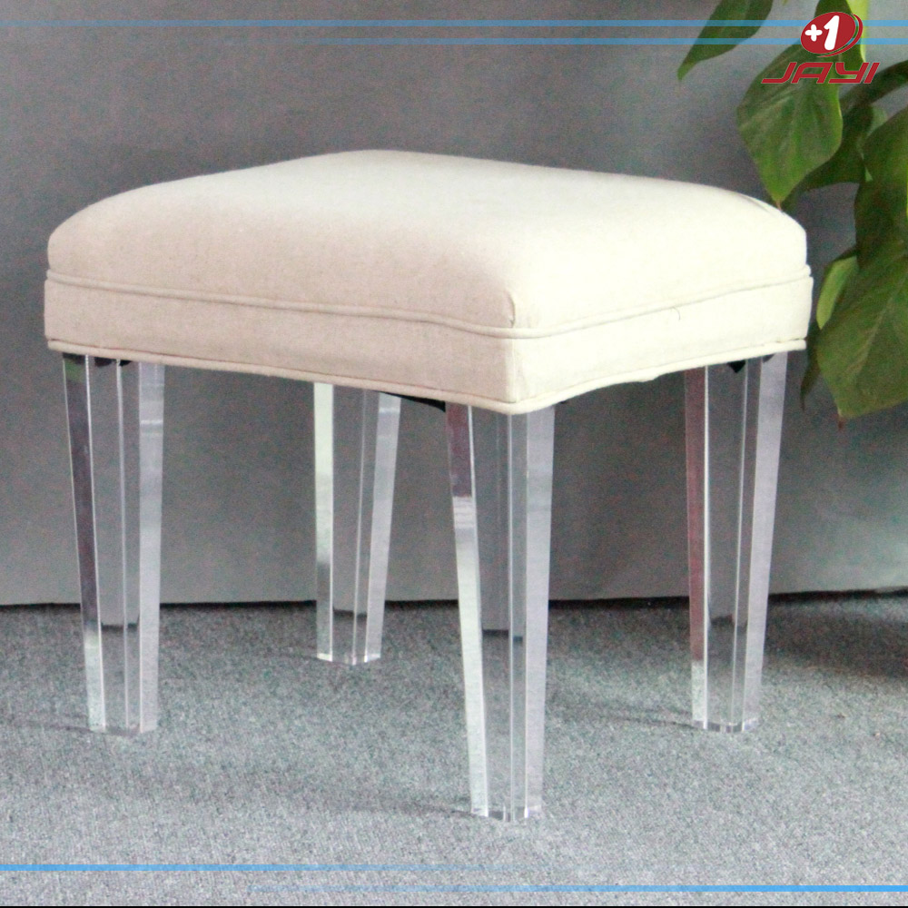 clear acrylic vanity square lucite stool bench for bedroom with  - clear acrylic vanity square lucite stool bench for bedroom with linencushion  buy bench for bedroomclear acrylic lucite stoolclear acrylicvanity stool