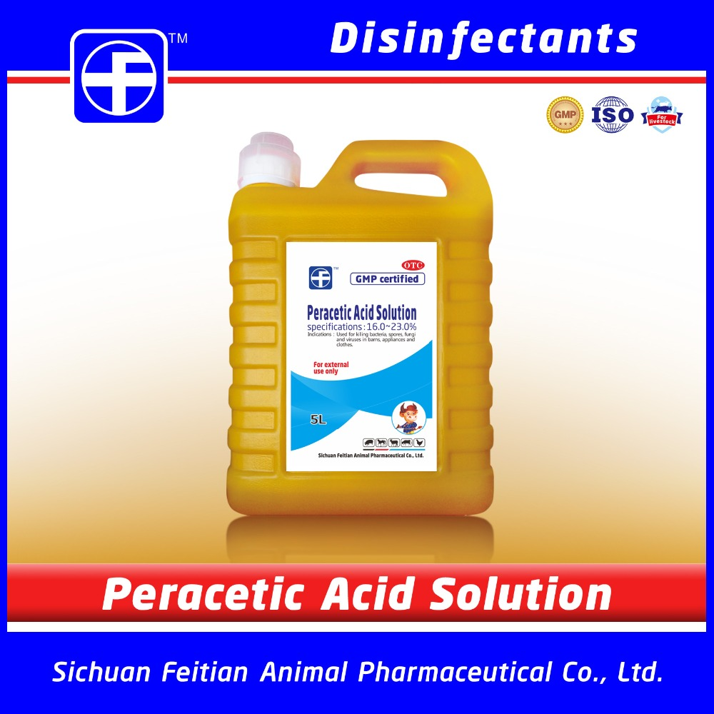 GMP Manufacturer Disinfectant for poultry farm / Veterinary use / Veterinary medicine