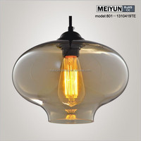 glass pendant lighting by Jeremy Pyles