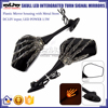 BJ-RM-065 For Honda CBR1000 Skull Hand Turn Signal LED Motorcycle Side Mirror