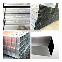 Black Mild steel square tube list of manufacturing company