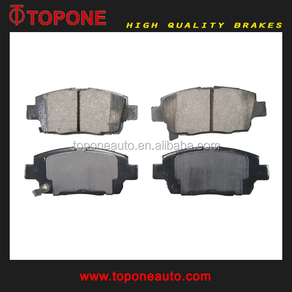 North America Market Brake Pads For SCION xA/xB D1249 A-713WK D2257M
