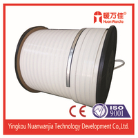 insulating glass used aluminium butyl bendable spacer strip for single seal