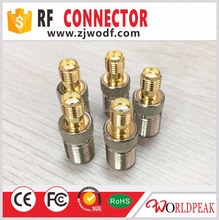 factory direct coaxial cable SMA jack female to F female adaptor rf cable connector