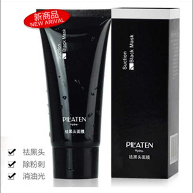 PILATEN Face Blackhead Removing Peel-off Mask, Purifying Skin, Deep Cleansing Face Care Mask, Blackhead Remover Black Mask, 60g