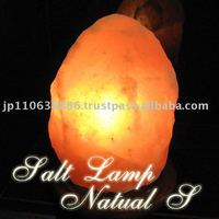 Rose salt Lamp Natural S rock salt lamp(#100002)