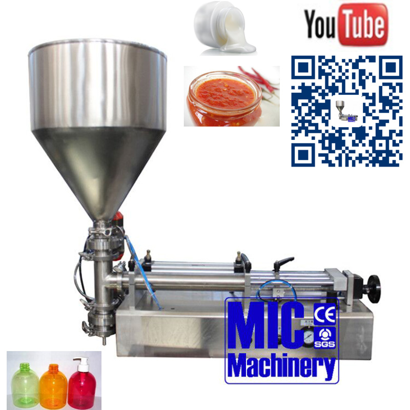 Micmachinery hot sell sauce packaging machine jar filling <strong>equipment</strong> filling machine for sale
