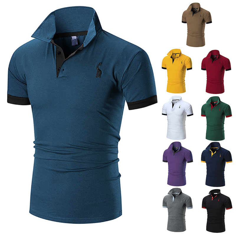 Wholesale High quality custom polo t shirt cotton for <strong>men</strong>