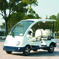 4 seats police golf cart for sale DN-4P with CE certificate (China)